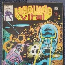 Cómics: MAQUINA VITAL #2 (VERTICE, 1980). Lote 166844634