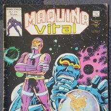 Cómics: MAQUINA VITAL #3 (VERTICE, 1980). Lote 166844722