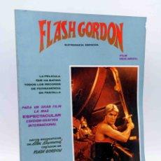 Cómics: ÁLBUM DE LA PELÍCULA. FLASH GORDON SUPREMACÍA ESPACIAL (FILM DE DINO LAURENTIIS) VÉRTICE, 1980. OFRT. Lote 199864163