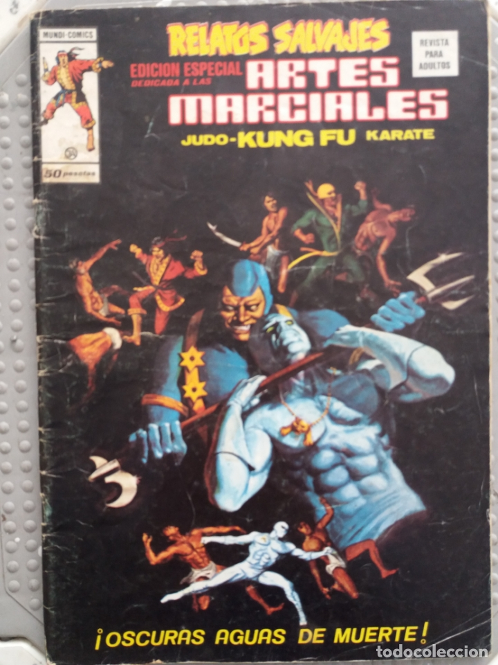 RELATOS SALVAJES (EDICIÓN ESPECIAL) ARTES MARCIALES - EDICIONES VERTICE (Tebeos y Comics - Vértice - Relatos Salvajes)