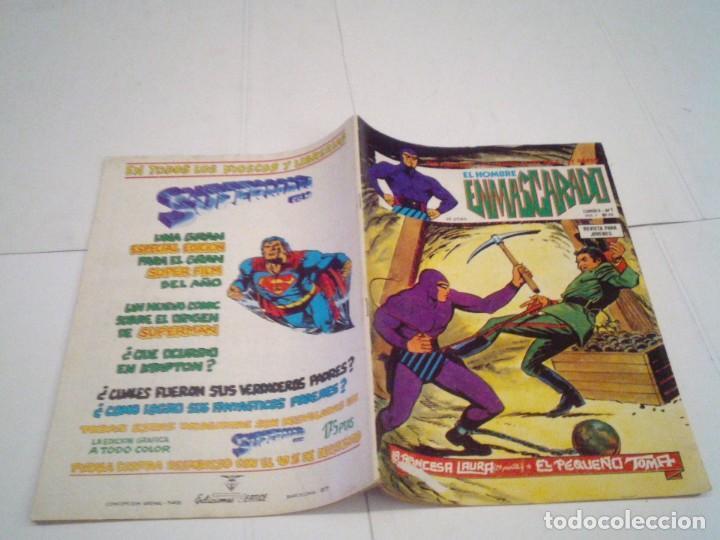 Cómics: EL HOMBRE ENMASCARADO - VERTICE - VOLUMEN 1 - COMPLETO -56 + 2 ESPECIALES - MBE - GORBAUD - CJ 108 - Foto 55 - 167462164