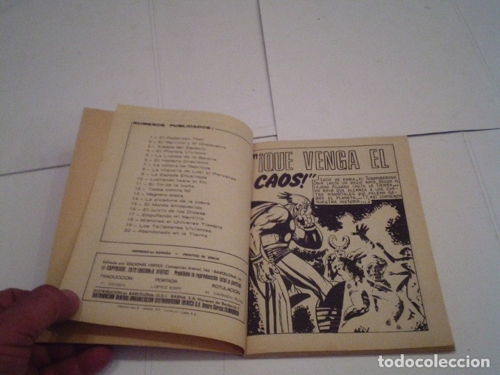 Cómics: THOR - VERTICE - VOLUMEN 1 - COMPLETA - 42 NUMEROS - MUY BUEN ESTADO - GORBAUD - Foto 155 - 154407206