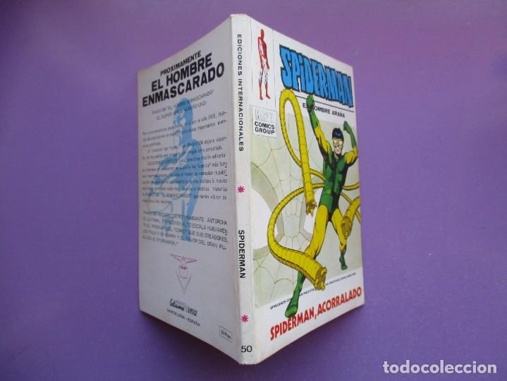 Cómics: SPIDERMAN Nº 50 VERTICE TACO ¡¡¡¡ MUY BUEN ESTADO !!!!! - Foto 3 - 167510744