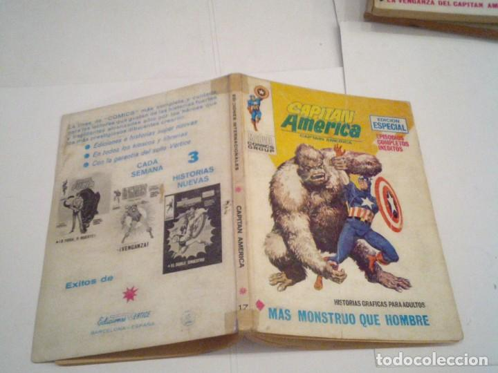Cómics: CAPITAN AMERICA - VERTICE - VOLUMEN 1 - NUMERO 17 - CJ 108 - GORBAUD - Foto 5 - 167562072