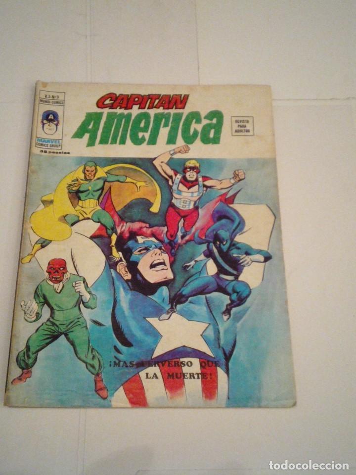 CAPITAN AMERICA - VERTICE - VOLUMEN 3 - NUMERO 9 - CJ 107 - GORBAUD (Tebeos y Comics - Vértice - Capitán América)