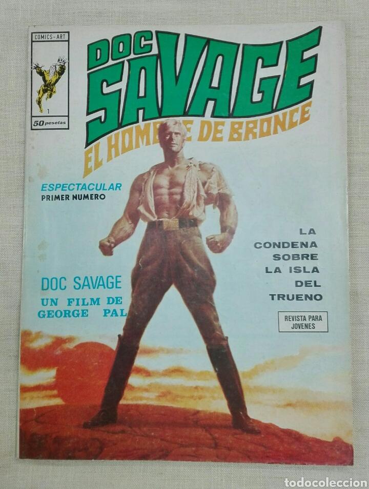 DOC SAVEGE EL HOMBRE DE BRONCE (Tebeos y Comics - Vértice - Hombre de Hierro)