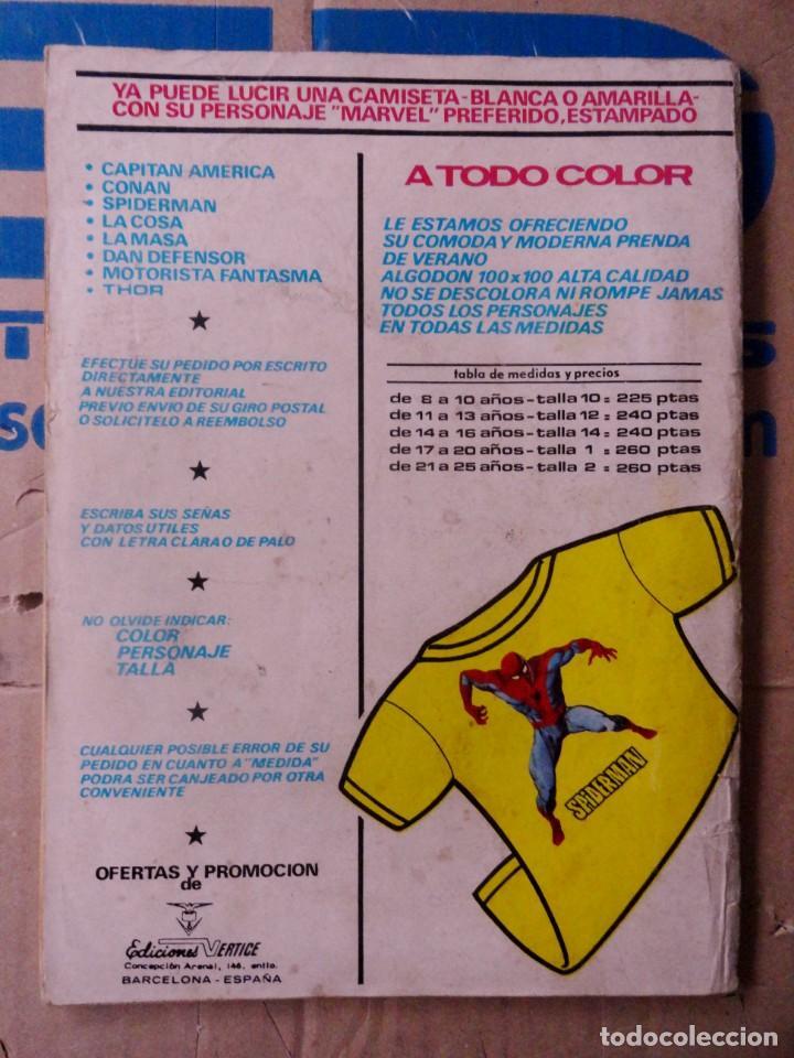 Cómics: FANTOM VOL 2 VÉRTICE NÚMERO 19. 1975.35 PTS ¡TERROR E IMAGINACIÓN ! - Foto 4 - 167741716