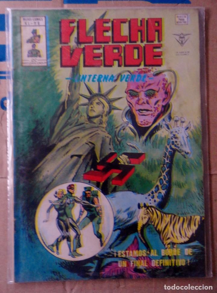 FLECHA VERDE VOL 1 VÉRTICE NÚMERO 6. 1978.- LINTERNA VERDE- ¡ESTAMOS AL BORDE DE UN FINAL DEFINITIVO (Tebeos y Comics - Vértice - Otros)