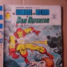 Cómics: HÉROES MARVEL VOL 2 VÉRTICE NÚMERO 13. 1976, 35 PTS EL HOMBRE DE HIERRO Y EL DAN DEFENSOR . Lote 167748932