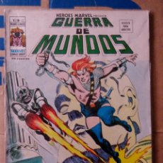 Cómics: HÉROES MARVEL VOL 2 VÉRTICE NÚMERO 22. 1976, 35 PTS GUERRA DE MUNDOS . Lote 167750188