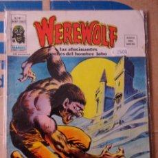 Cómics: WEREWOLF (HOMBRE LOBO) VOL 2 NÚMERO 11 VÉRTICE, AÑO 1975, 35 PTS. LA MALDICIÓN DEL CASTILLO . Lote 167760516