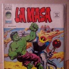 Cómics: LA MASA VOL 3 VÉRTICE NÚMERO 13 AÑO 1975 , 35 PTS.¡DONDE ACECHA EL REPTIL NOCTURNO!. Lote 167827596