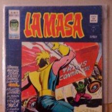 Cómics: LA MASA VOL 3 VÉRTICE NÚMERO 18 AÑO 1975 , 35 PTS.EL COLOSO DEL ESPACIO. Lote 167828164