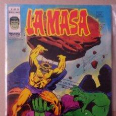Cómics: LA MASA VOL 3 VÉRTICE NÚMERO 28 AÑO 1978 40 PTS.¡DOS AÑOS ANTES DE LA ABOMINACIÓN!. Lote 167828824