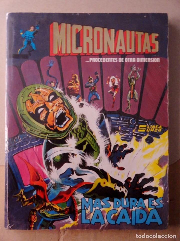 MICRONAUTAS PROCEDENTES DE OTRA DIMENSIÓN. SURCO. VÉRTICE RETAPADO 5 PRIMEROS NÚMEROS (1 A 5) (Tebeos y Comics - Vértice - Otros)