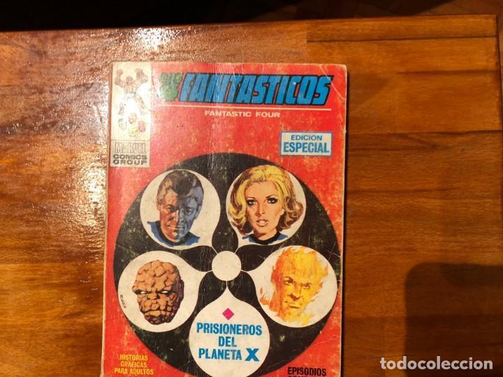 LOS 4 FANTÁSTICOS. PRISIONEROS DEL PLANETA X. VOL. I, NÚMERO 4 (Tebeos y Comics - Vértice - 4 Fantásticos)