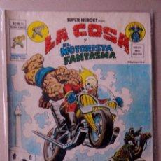 Cómics: SUPER HEROES VOL 2 VÉRTICE NÚMERO 44. LA COSA Y EL MOTORISTA FANTASMA .AÑO 1976. Lote 167969532
