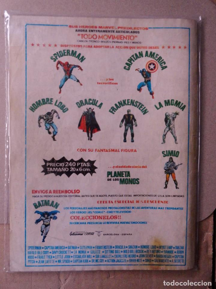 Cómics: SUPER HEROES VOL 2 VÉRTICE NÚMERO 44. LA COSA Y EL MOTORISTA FANTASMA .AÑO 1976 - Foto 4 - 167969532