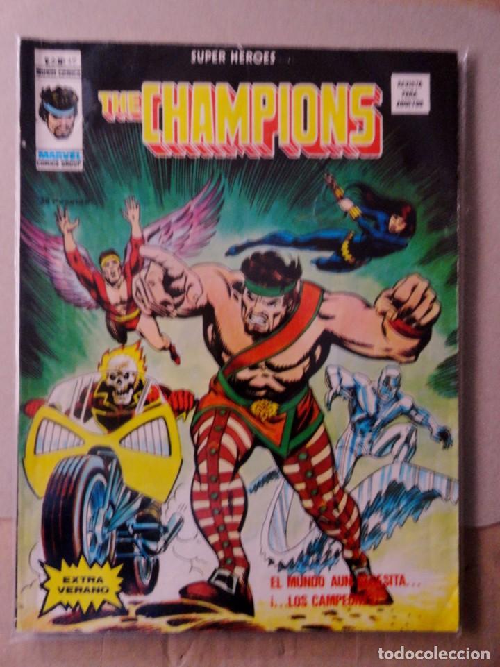 SUPER HEROES VOL 2 VÉRTICE NÚMERO 49. THE CHAMPIONS .AÑO 1976 (Tebeos y Comics - Vértice - Super Héroes)