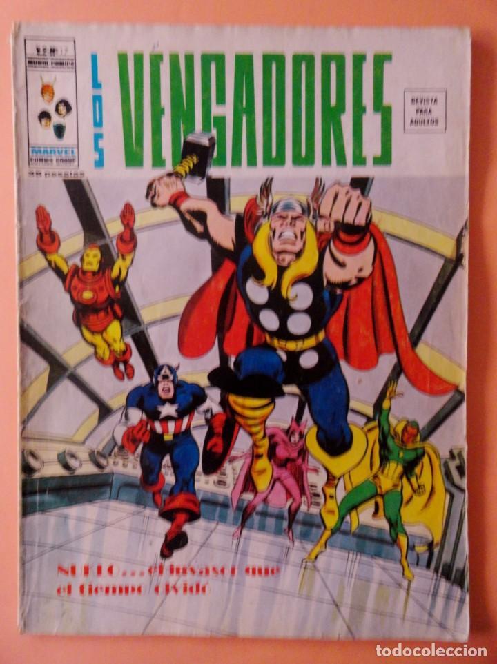 LOS VENGADORES VOL 2 VÉRTICE NÚMERO 17 AÑO 1976, 35 PTS (Tebeos y Comics - Vértice - Vengadores)