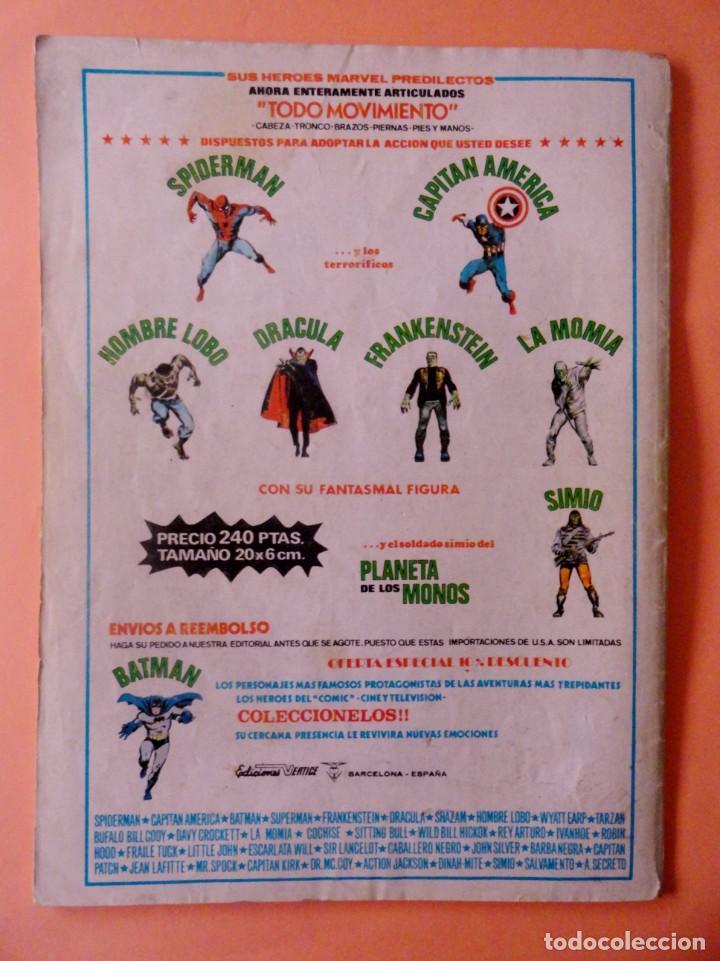 Cómics: LOS VENGADORES VOL 2 VÉRTICE NÚMERO 17 AÑO 1976, 35 PTS - Foto 4 - 167984160