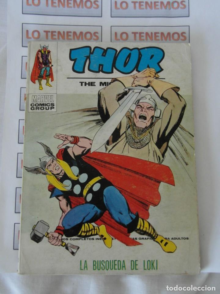 COMICS THOR LA BÚSQUEDA DE LOKI Nº35 MARVEL (Tebeos y Comics - Vértice - Thor)