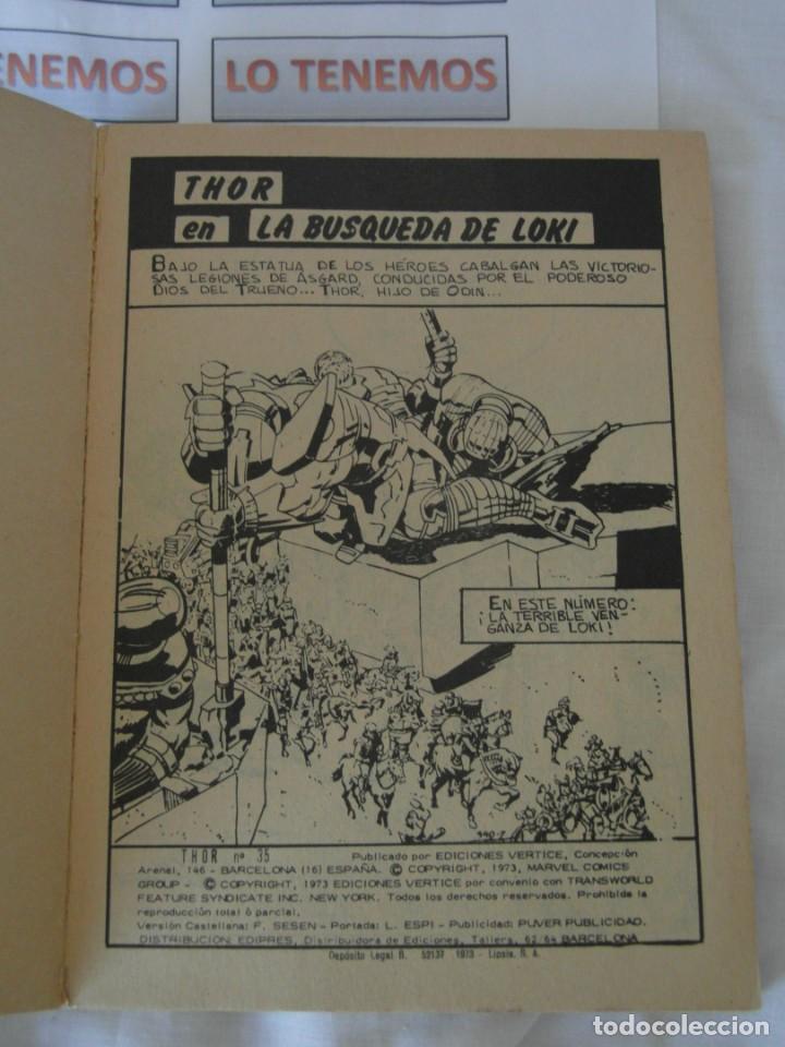 Cómics: Comics Thor La búsqueda de Loki nº35 marvel - Foto 2 - 168039360