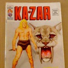 Cómics: KAZ-ZAR VÉRTICE VOL 2 NÚMERO 1 AÑO 1974, 30 PTS , LAS SOMBRAS DEL CAOS, BUEN ESTADO Y DIFÍCIL. Lote 168089300