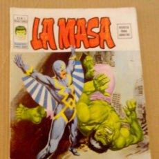 Cómics: LA MASA VÉRTICE VOL 2 NÚMERO 1 AÑO 1974, 30 PTS , LAS FURIA DEL RAYO NEGRO BUEN ESTADO !! DIFÍCIL. Lote 168092036