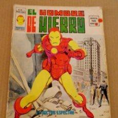 Cómics: EL HOMBRE DE HIERRO VOL 1 NÚMERO 1 AÑO 1974, 30 PTS , EL DOCTOR ESPECTRO. Lote 168104388