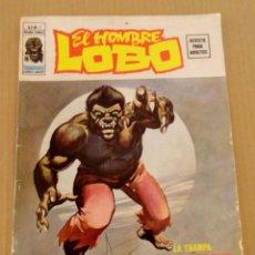 Cómics: EL HOMBRE LOBO VOL 2 NÚMERO 1 AÑO 1974, 30 PTS , COM SELLO Y FIRMA DE LA EDITORIAL VÉRTICE . Lote 168110332