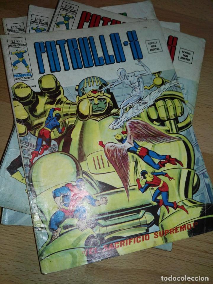 LOTE PATRULLA X VOL. 3 (Tebeos y Comics - Vértice - Patrulla X)