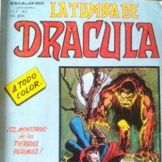 Cómics: LA TUMBA DE DRACULA VOL 2 N 3. Lote 168271372