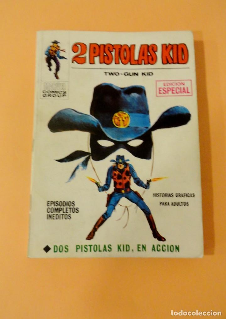 2 PISTOLAS KID VOL 1 VÉRTICE NÚMERO 1, AÑO 1971(DOS PISTOLAS KID EN ACCIÓN) (Tebeos y Comics - Vértice - Otros)