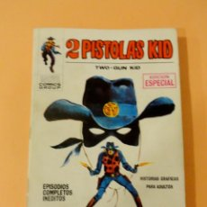 Cómics: 2 PISTOLAS KID VOL 1 VÉRTICE NÚMERO 1, AÑO 1971(DOS PISTOLAS KID EN ACCIÓN). Lote 168372036
