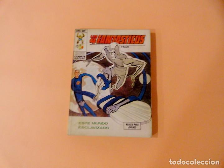 LOS 4 FANTÁSTICOS VOL 1 VÉRTICE NÚMERO 61, AÑO 1974 (ESTE MUNDO ESCLAVIZADO) (Tebeos y Comics - Vértice - 4 Fantásticos)