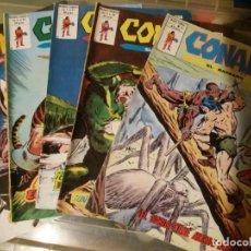 Comics : CONAN EL BÁRBARO. VÉRTICE. NÚMEROS 34, 40,41,42 Y 43. Lote 168375072