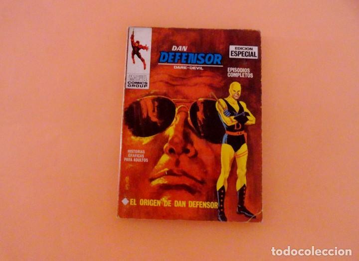 DAN DEFENSOR VOL 1 VÉRTICE NÚMERO 1, AÑO 1967 (EL ORIGEN DE DAN DEFENSOR ) (Tebeos y Comics - Vértice - Dan Defensor)