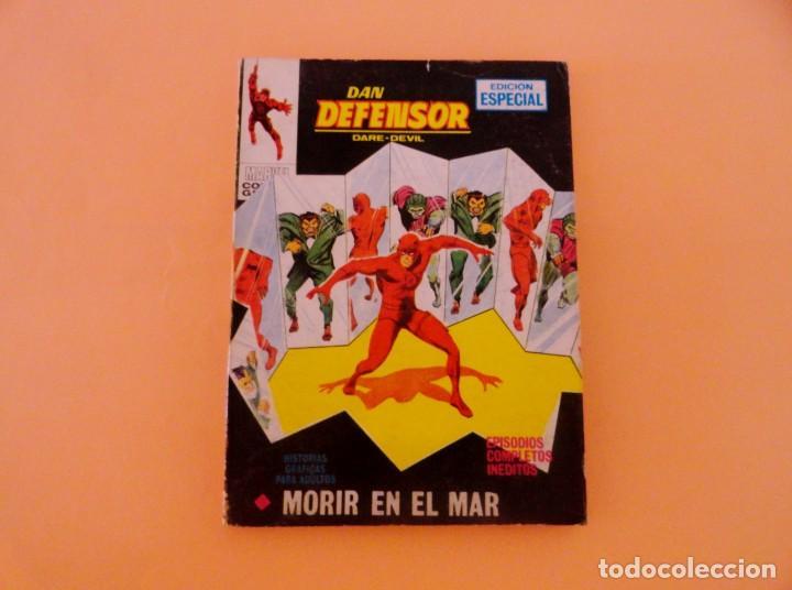 DAN DEFENSOR VOL 1 VÉRTICE NÚMERO 25, AÑO 1971 (MORIR EN EL MAR ) (Tebeos y Comics - Vértice - Dan Defensor)