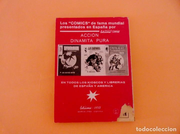 Cómics: DAN DEFENSOR VOL 1 VÉRTICE NÚMERO 25, AÑO 1971 (MORIR EN EL MAR ) - Foto 2 - 168385512