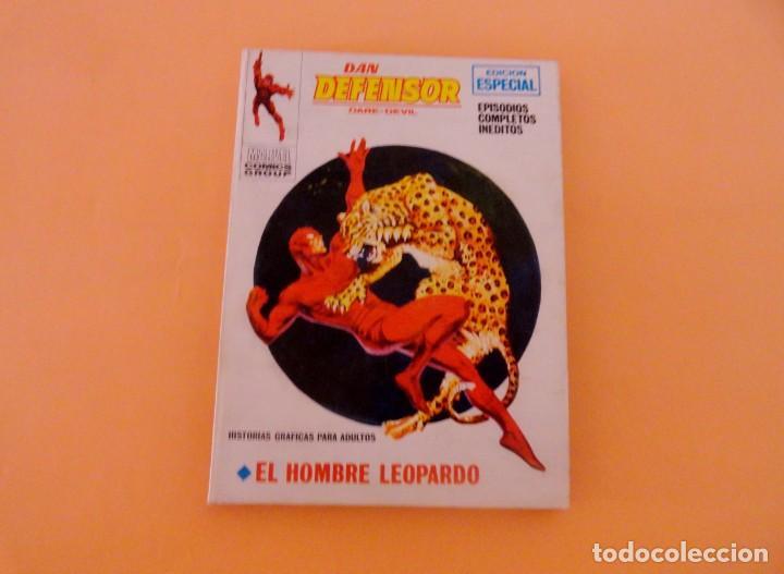 DAN DEFENSOR VOL 1 VÉRTICE NÚMERO 30, AÑO 1972 (EL HOMBRE LEOPARDO ) (Tebeos y Comics - Vértice - Dan Defensor)
