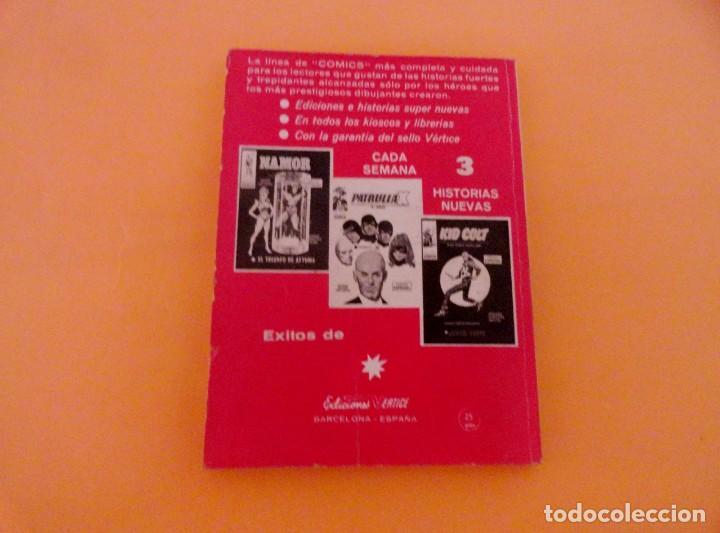 Cómics: DAN DEFENSOR VOL 1 VÉRTICE NÚMERO 30, AÑO 1972 (EL HOMBRE LEOPARDO ) - Foto 2 - 168386600