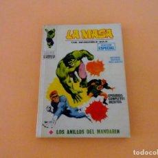 Cómics: LA MASA VOL1 VÉRTICE NÚMERO 3, AÑO 1970 (LOS ANILLOS DEL MANDARÍN ). Lote 168393364