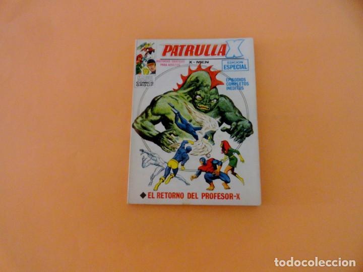 PATRULLA X VOL 1 VÉRTICE NÚMERO 30, AÑO 1970 (EL RETORNO DEL PROFESOR-X ) (Tebeos y Comics - Vértice - Patrulla X)