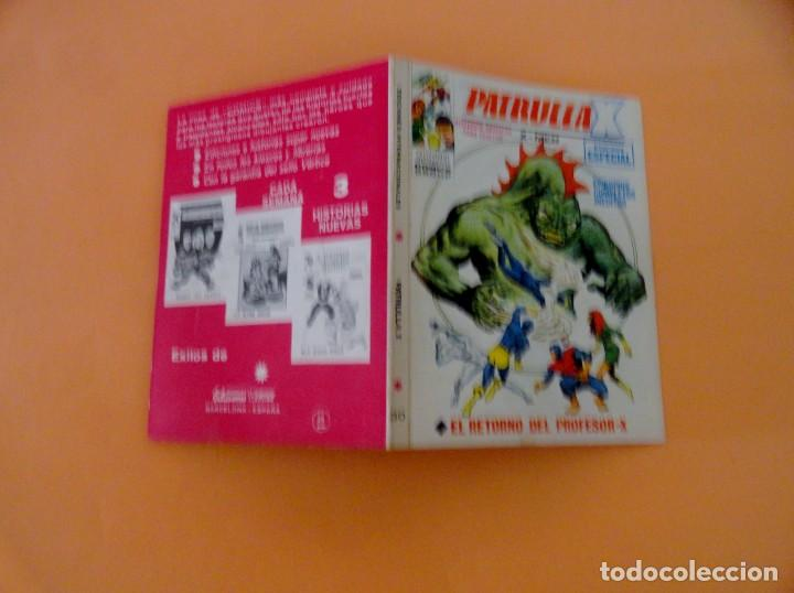 Cómics: PATRULLA X VOL 1 VÉRTICE NÚMERO 30, AÑO 1970 (EL RETORNO DEL PROFESOR-X ) - Foto 4 - 168395756