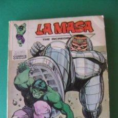 Cómics: LA MASA Nº 32 VERTICE TACO. Lote 168426056