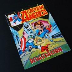Cómics: DE KIOSCO CAPITAN AMERICA 7 LINEA SURCO VERTICE. Lote 168485106
