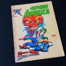 Cómics: CAPITAN AMERICA 4 LINEA SURCO VERTICE VER FOTO. Lote 168485822