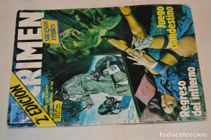 Cómics: Lote 6 comic variados TERROR y CRIMEN - Edit. VERTICE, URSUS y ZINCO ¡Mira! - Foto 4 - 168502596