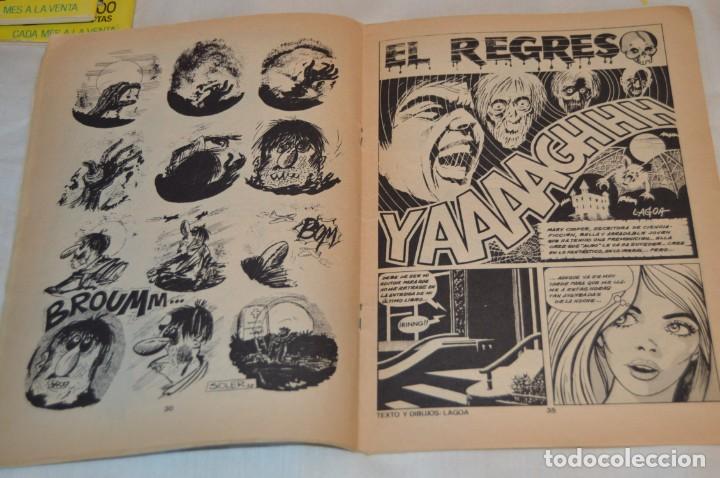 Cómics: Lote 6 comic variados TERROR y CRIMEN - Edit. VERTICE, URSUS y ZINCO ¡Mira! - Foto 10 - 168502596